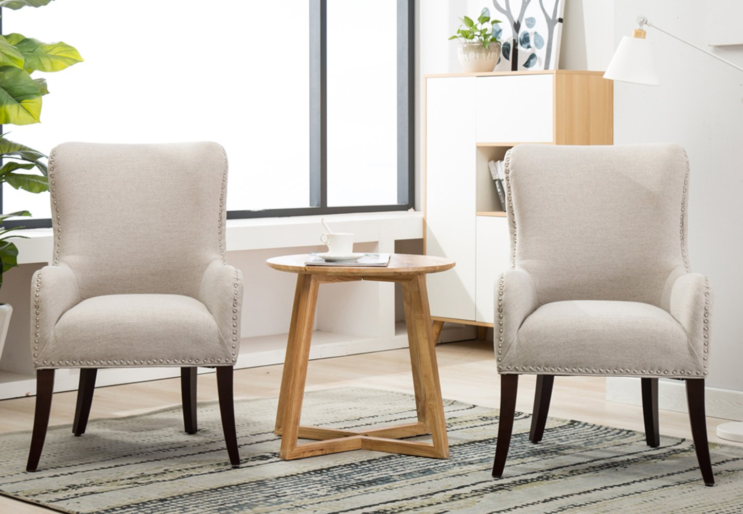Accent Chair Modern Living Room Chairs Set Sofa Chairs Pack of 2