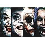 Jokers In Batman Movie Joker Actors Poster 20x30