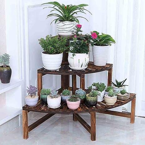 Supporti per piante rack JUN-Flower 3 scaffali per fiori / piante di ...