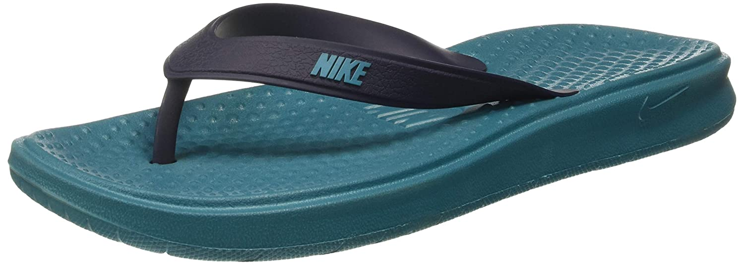 28f3e184183aa8 Nike Men s SOLAY Flip Flops Thong Sandals  Buy Online at Low Prices in  India - Amazon.in