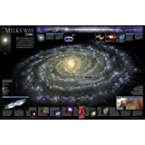 National Geographic: The Milky Way Wall Map (31.25 x 20.25 inches) (National Geographic Reference Map)