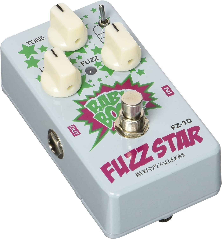 Biyang FZ10 Fuzz Star pedal de distorsión: Amazon.es: Instrumentos ...