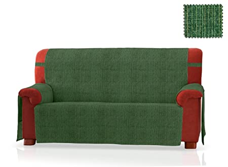 JM Universal Sofa Cover Hermes 4 Seater Size (200 Cm.), Green Colour