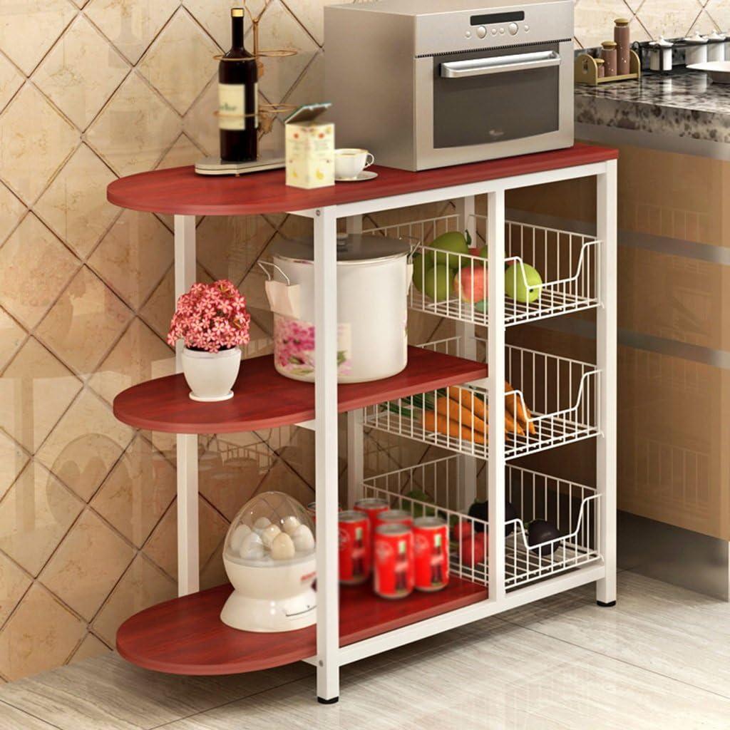 Estantes y soportes para ollas y sartenes HWF Estante de Cocina ...