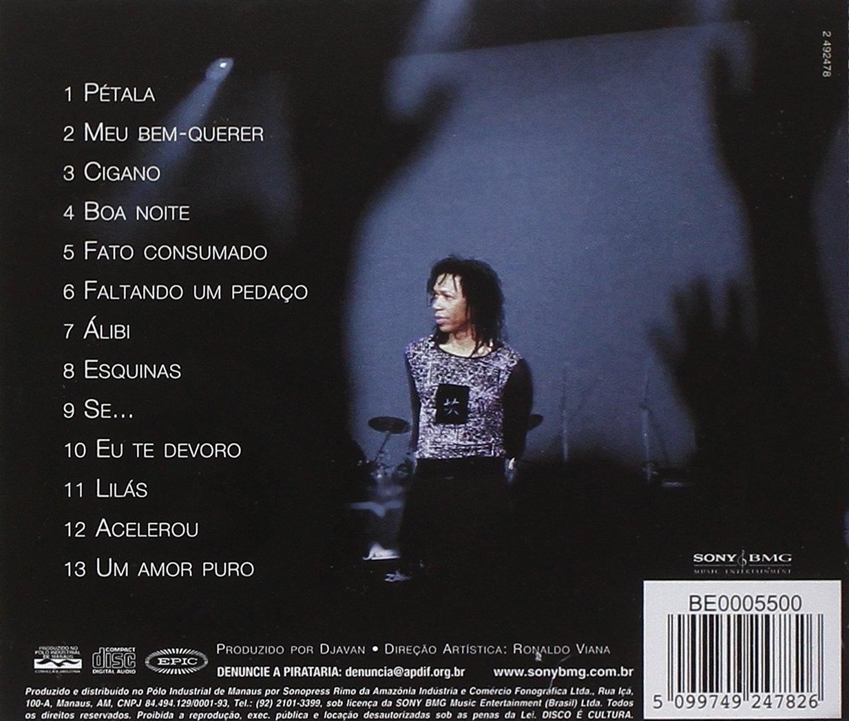 Djavan Ao Vivo, Vol. 2