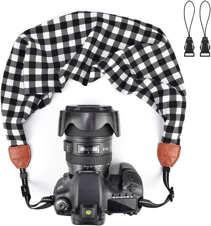 LIFEMATE Scarf Camera Strap,DSLR Camera Strap Universal Neck Strap,Fabric of Bohemia Floral Scarf Camera Strap (Style 65)