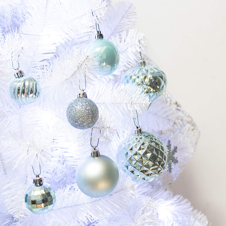 Amazon.com: KI Store 20ct Christmas Ball Ornaments Shatterproof ...