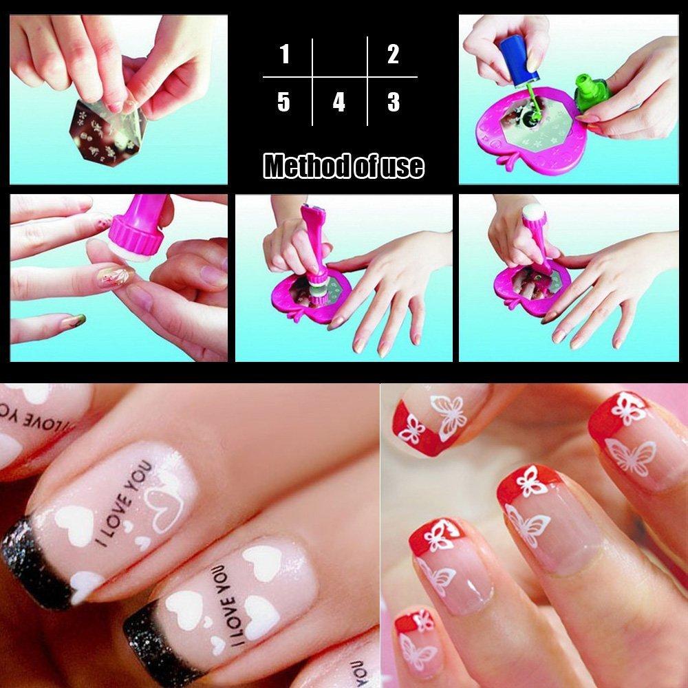 Modern Stamp Nail Polish Collection - Nail Art Ideas - morihati.com