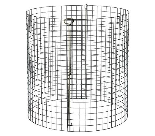 Dehner Compostador, diámetro 95 cm, altura 95 cm, acero ...