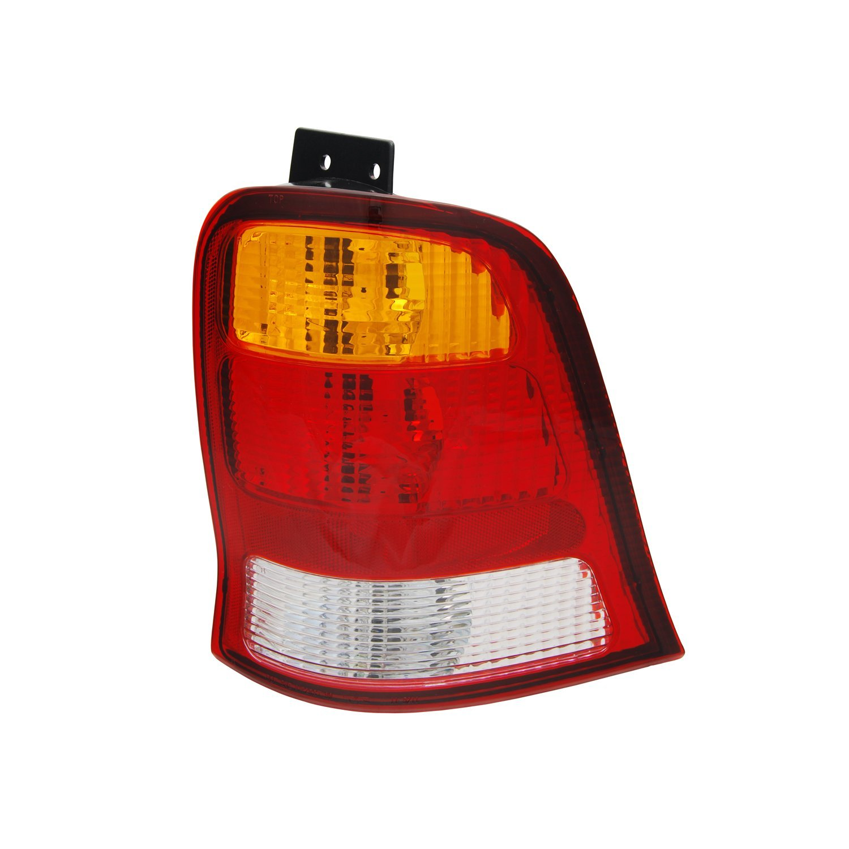 -Black Larson Electronics 1015P9I6FTM 100W Halogen 6 inch 2000 Pontiac Grand Prix Post Mount Spotlight Driver Side with Install kit