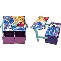 Disney Frozen 3 en 1 Muebles, Banco o