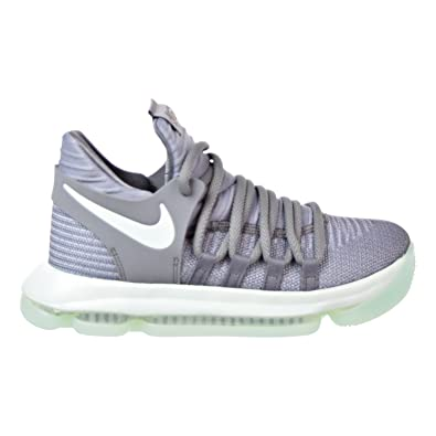 size 40 dfc6f 7d179 Nike Zoom KD10 (GS) Big Kid's Basketball Shoes Cool Grey/Igloo-White  918365-002 (4Y M US)