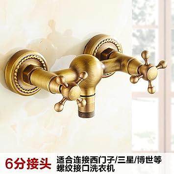 Amazon.com: Grifo monomando para lavabo Gyps de cascada ...