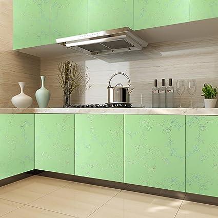 KINLO PVC 0.61 x 5M Carta Adesiva per Mobili/Cucina PVC Wallpaper ...