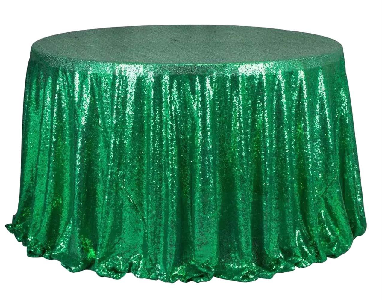 Liveinu きらめくグリッツ スパンコール テーブルクロス パーティー テーブルカバー テーブルランナー ウェディング ケーキ デザート テーブル 展示会 イベント テーブルリネン 60