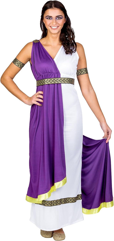 dressforfun Disfraz para mujer de la diosa olímpica | vestido (XXL ...