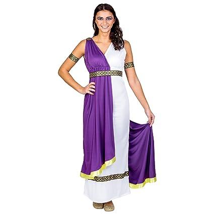 dressforfun Disfraz para mujer de la diosa olímpica | vestido (XXL | no. 300463)