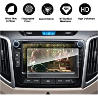 LFOTPP 2017-2018 Hyundai Creta Avn System Navigation infotainment Screen Protector Center Touch Protective Film High Clarity (7-Inch)