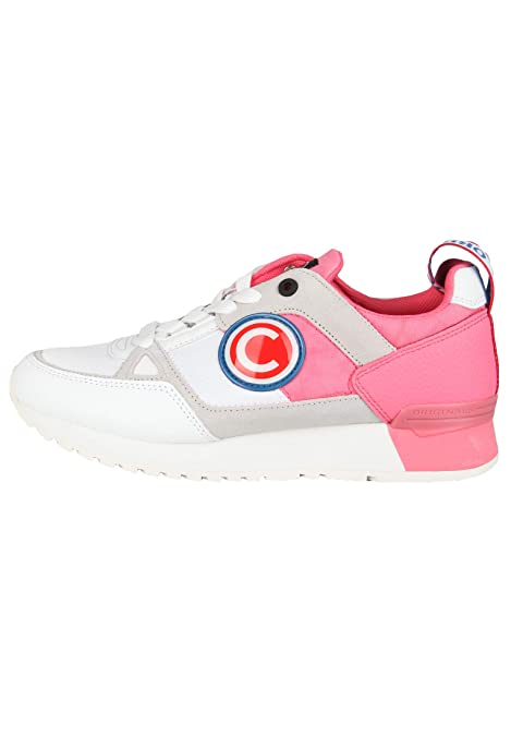 quality design 00983 f87e4 Colmar Supreme Mabro O. By O. 211 White/Pink Scarpe Donna Casual Sneakers  Woman