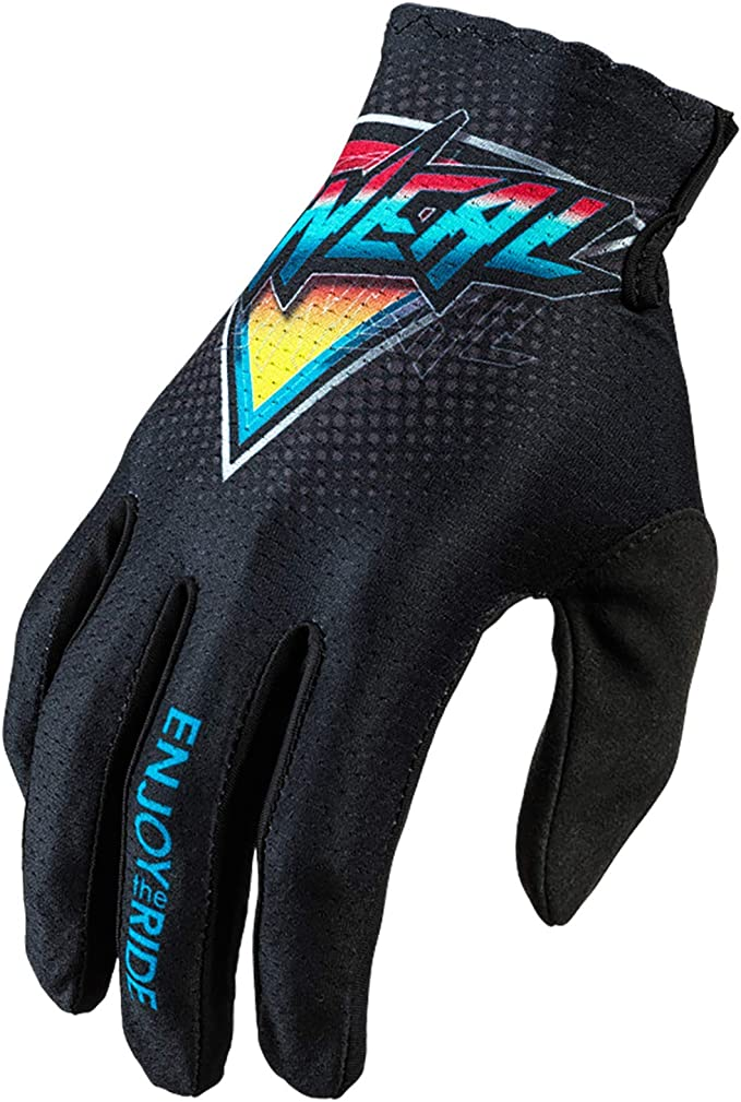 O Neal Fahrrad Motocross Handschuhe Mx Mtb Dh Fr Downhill Freeride Langlebige Flexible Materialien Belüftete Handoberseite Matrix Glove Speedmetal Erwachsene Bekleidung