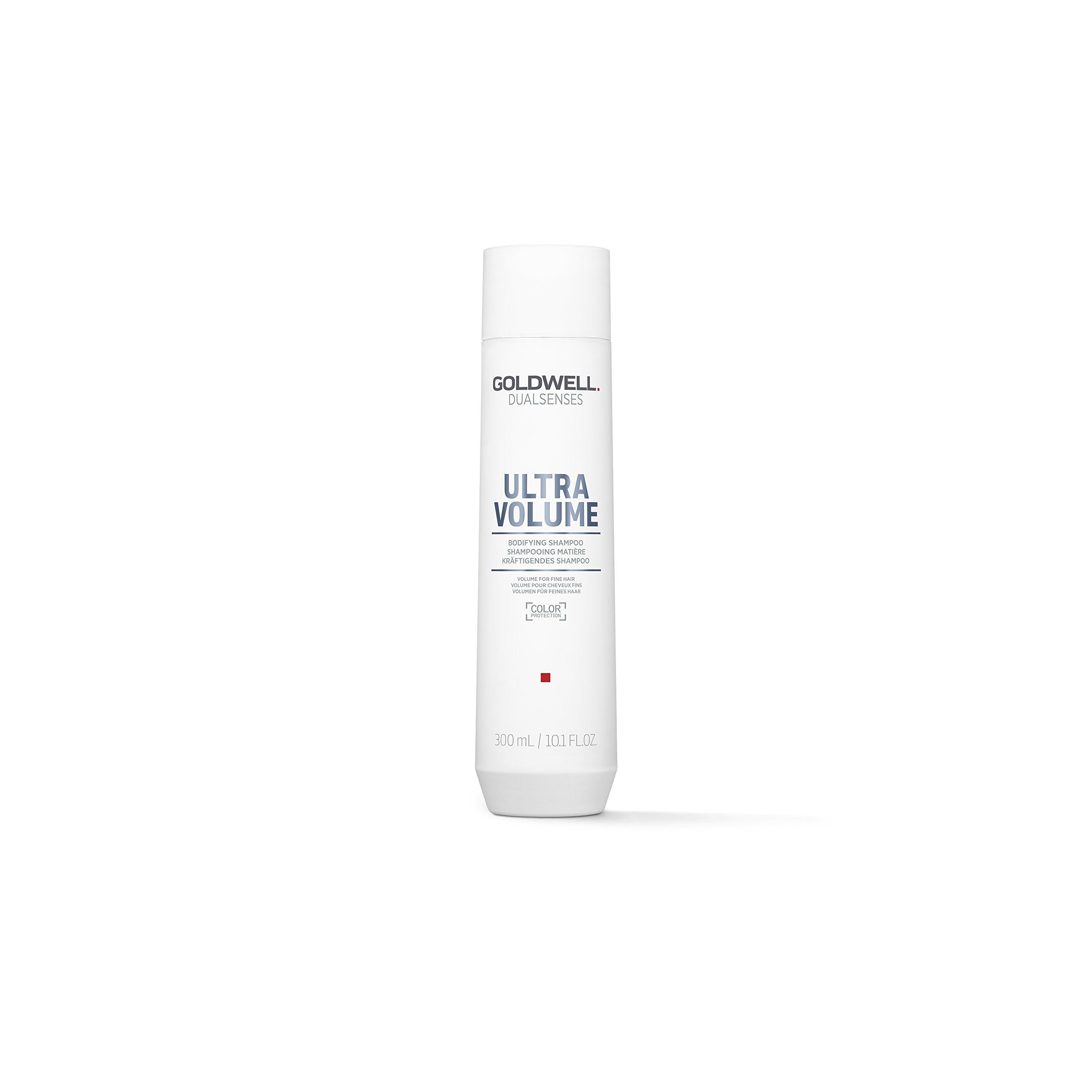 Goldwell Dualsenses Ultra Volume Bodifying Shampoo Root Boost Fullness Body, Color Protect - 10.1oz