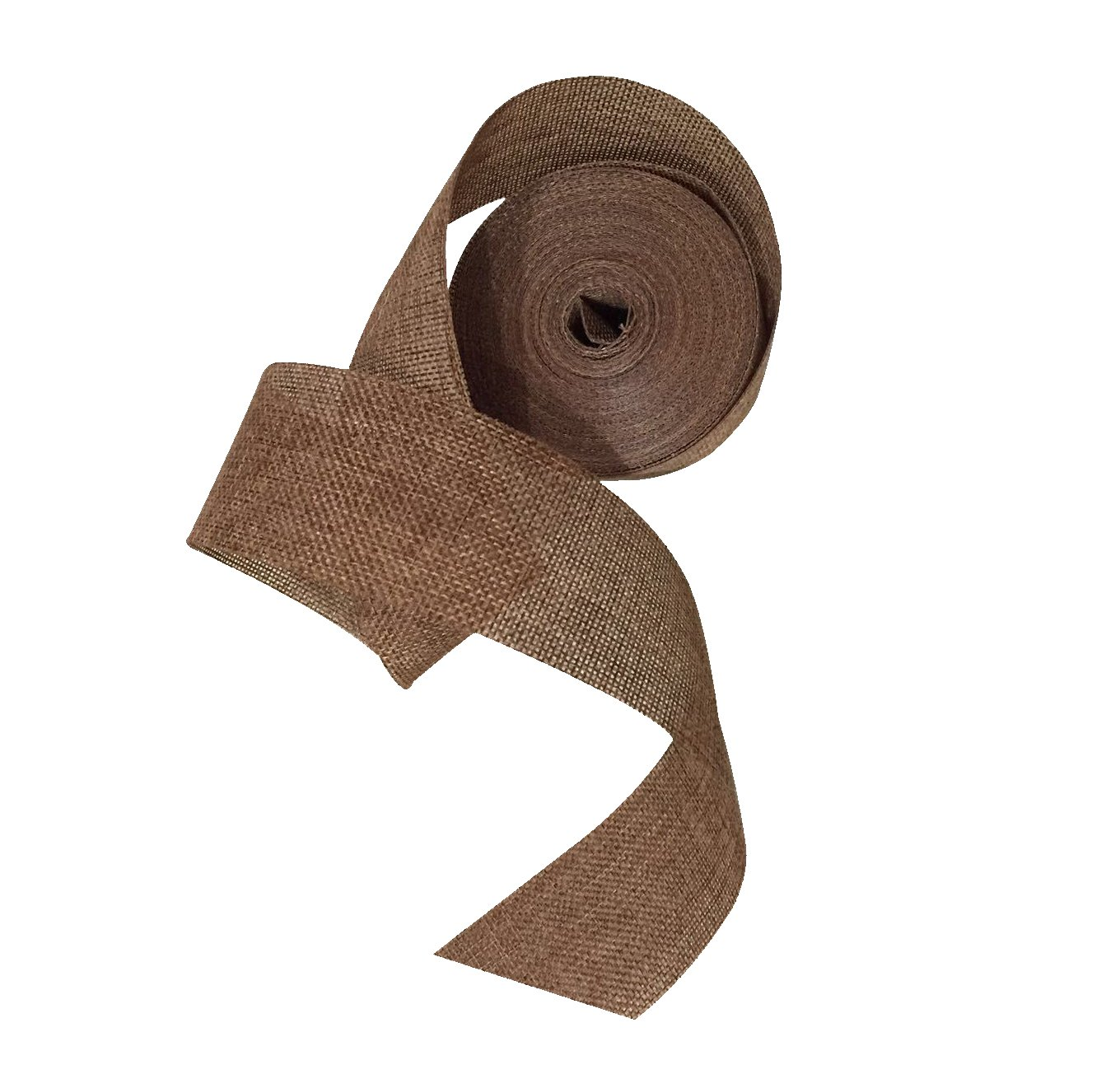 Burlap Ribbon 2 X 10 Yards Perfect for Weddings, Tie-Backs, Sashes, Table Runners, Gift Wrap (Red) AUTULET