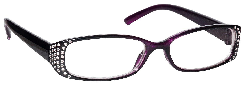 Die Lesebrille Unternehmen Schwarz Diamonte Stil Kurzsichtigkeit Entfernung Brille Frauen Damen UVM093BK Dioptrien -2, 00 Rowalk Holdings Ltd