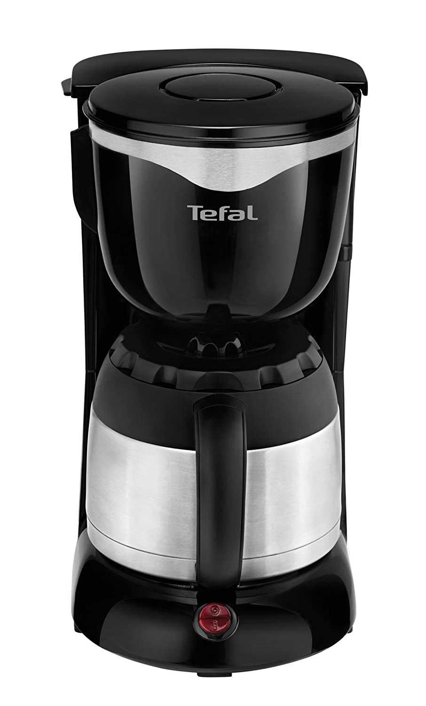 Amazon.de: Tefal CI4408 Thermo Kaffeemaschine (8 12 Tassen, 870 Watt)  Schwarz/edelstahl