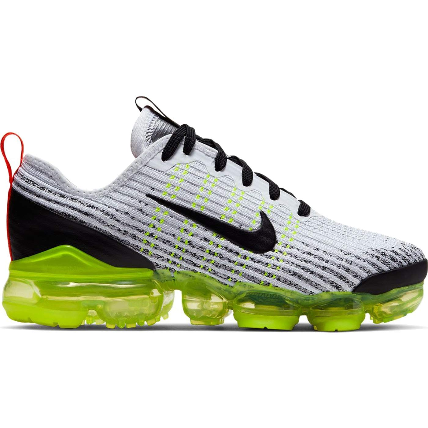 differently 04d0e 013d8 Amazon.com | Nike Air Vapormax Flyknit 3 (Kids) White/Black ...