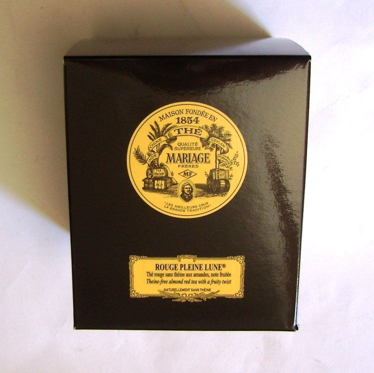 Mariage Frères - ROUGE PLEINE LUNE - Black classical sealed 3.52oz / 100gr canister / tin
