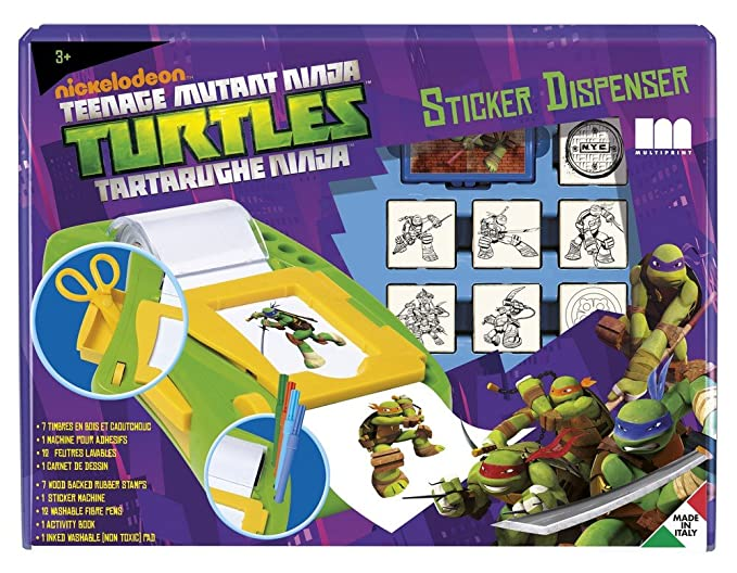 Multiprint - Muñeca Tortugas Ninja (8884): Amazon.es ...