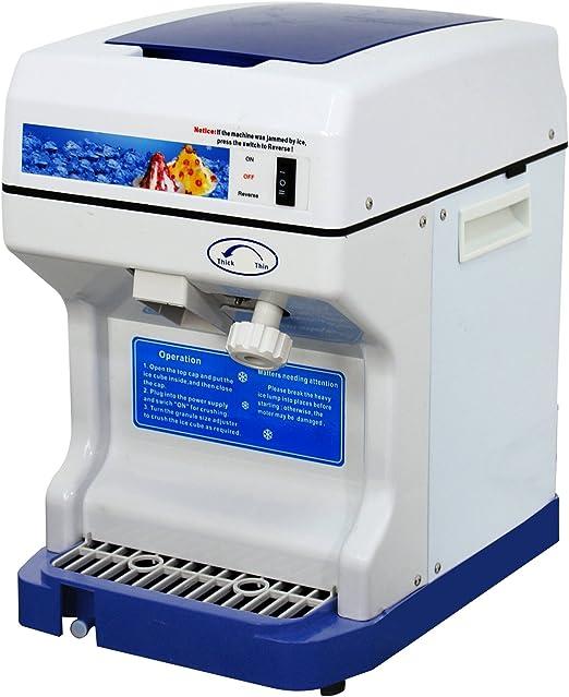 F2 C 320rpm Pro proceso comercial de trituradora de hielo maquina ...