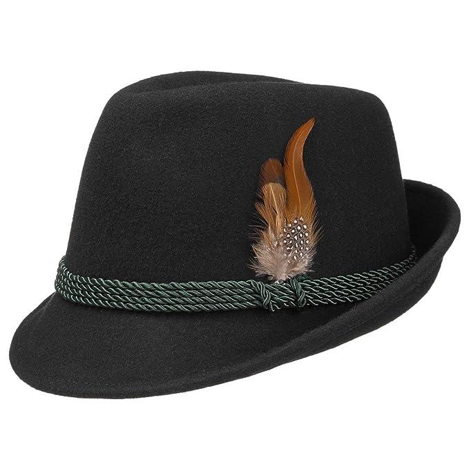 Cappello Tirolese da Uomo cappello tirolese cappello da camminatore 58 cm -  nero f21069a07462