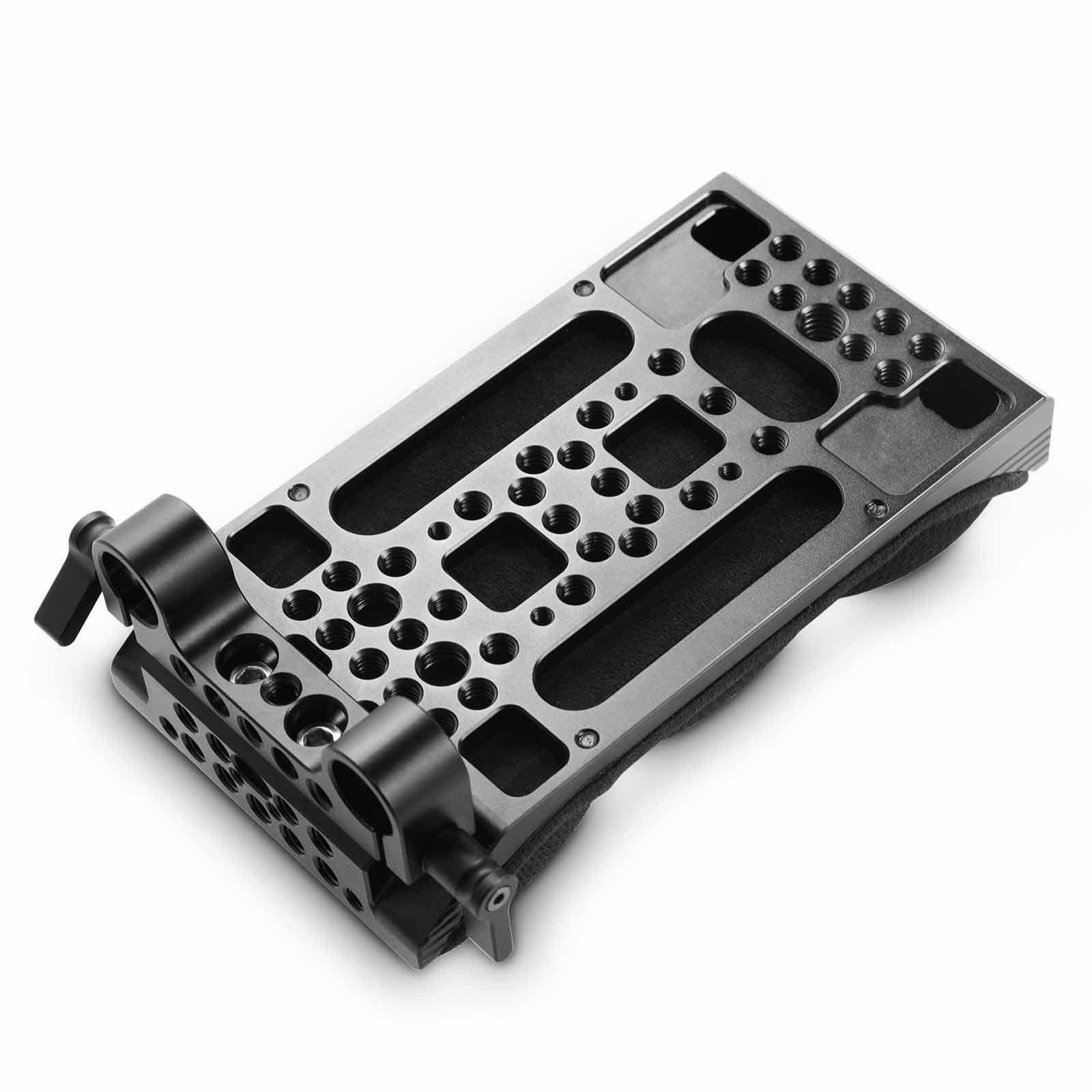 SMALLRIG 2077 Universal Camera Shoulder Pad with 15mm Rai...