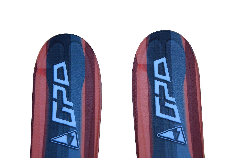 99 cm de Longitud para Hombre y Mujer Esqu/ís Cortos con Fijaciones GC-001 GPO Snowblade B3