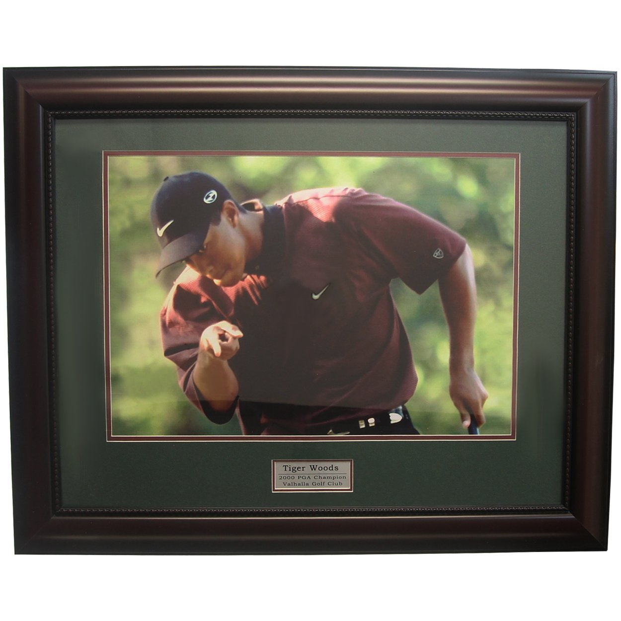 Golf, Gifts, & Gallery 2809F Tiger Woods Framed Photography Print