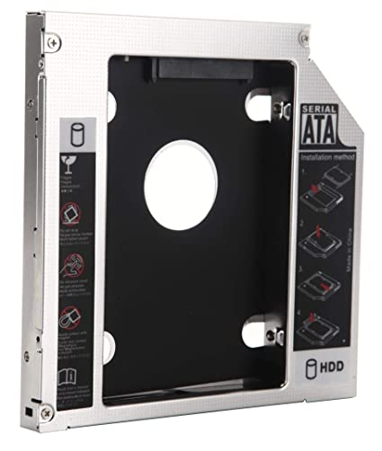 Amazon.com: DY-tech 2nd Hard Drive HDD SSD Frame Caddy Adapter for