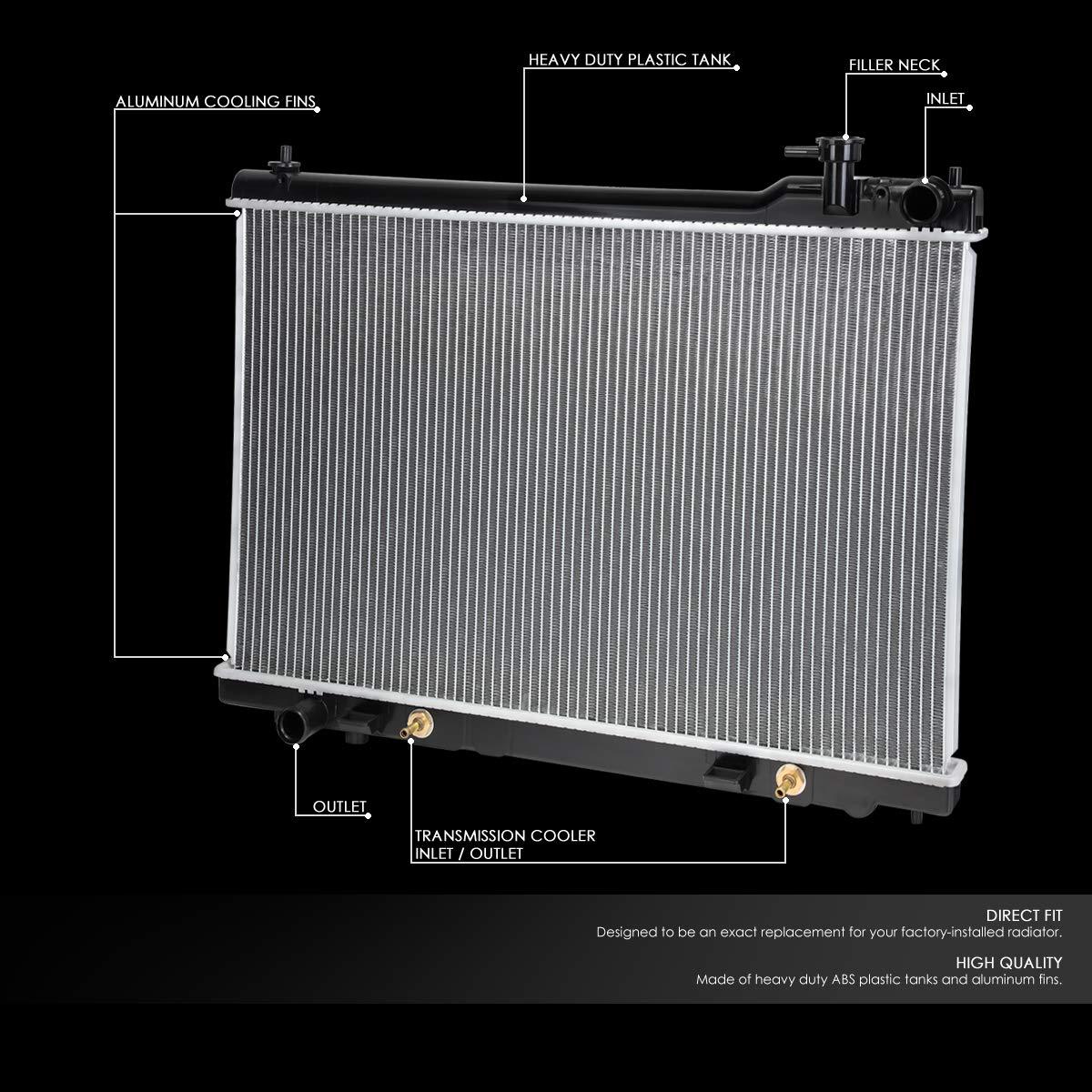 Radiator DENSO 221-3422 fits 03-08 Infiniti FX35