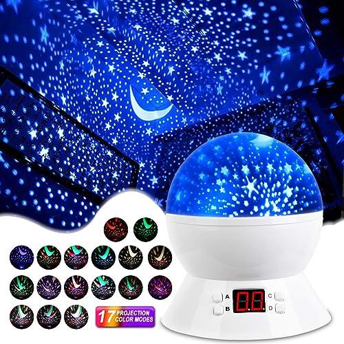 Star Projector for Night Light