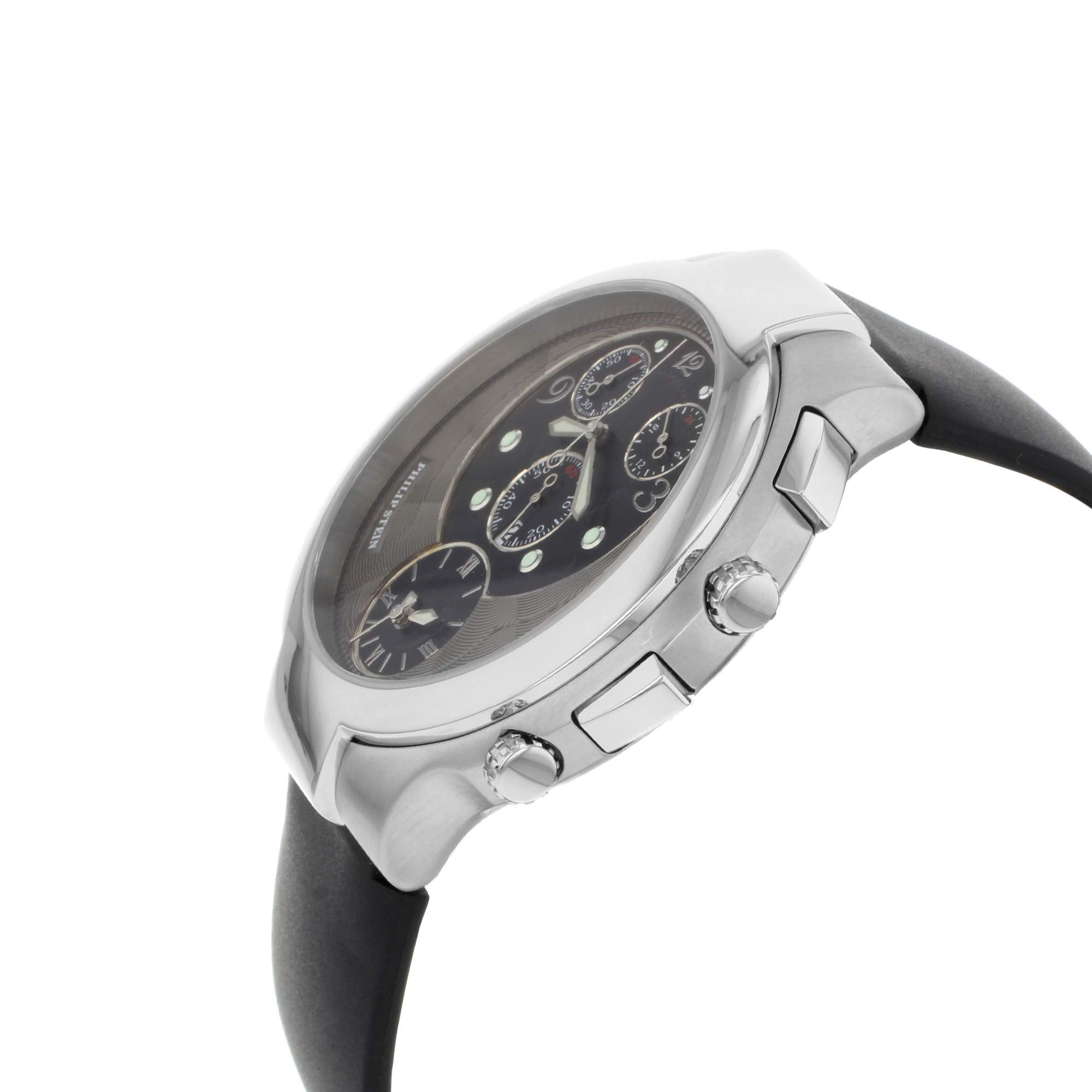 Philip Stein Chrono Analog-Quartz Male Watch 9-CRB3-CB (Certified Pre-Owned) by Philip Stein (Image #3)