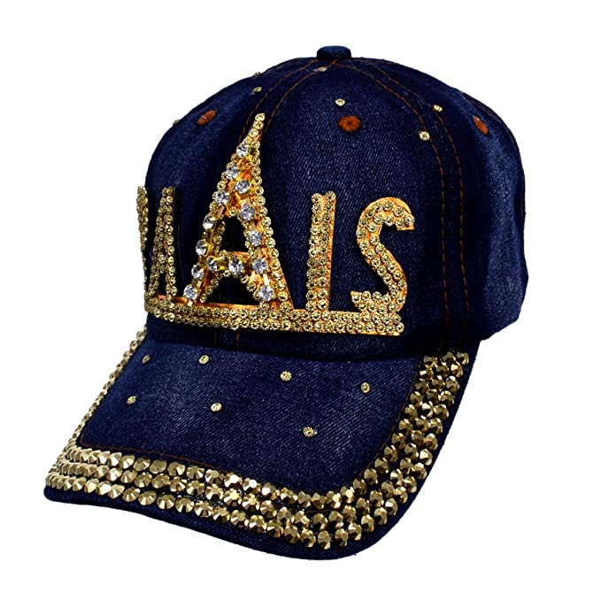 d14eba3d538 Image Unavailable. Image not available for. Color  Paris Bling Baseball Cap  Hat Embellished ...