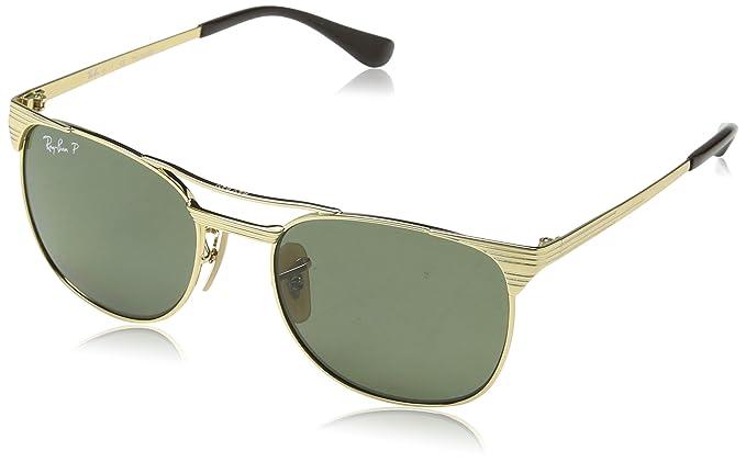 Ray-Ban RAYBAN JUNIOR 9540s, Gafas de Sol Unisex-Niño, Gold,