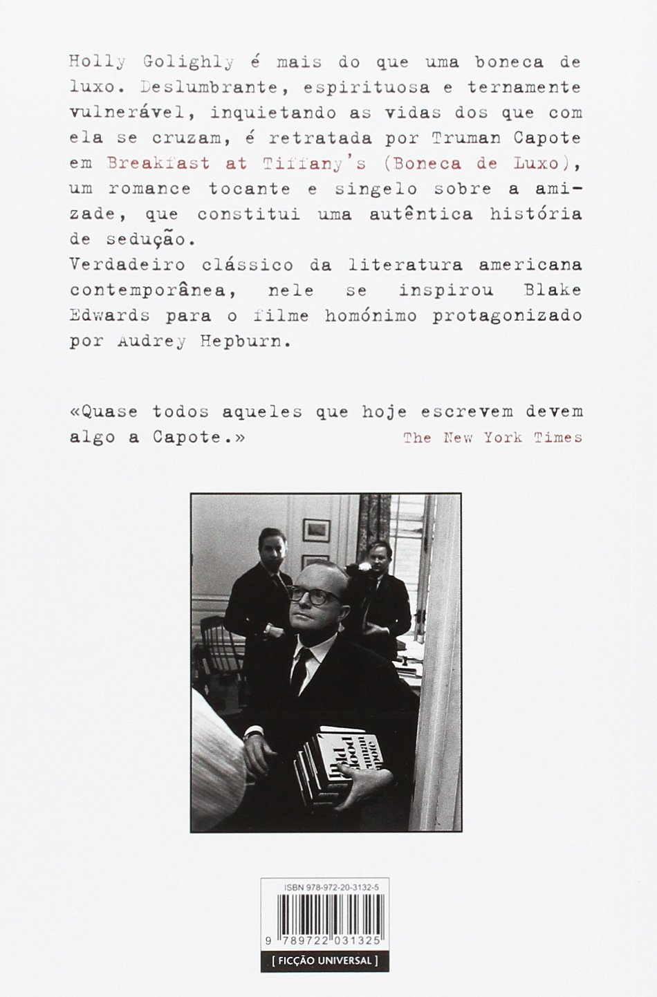 Breakfast at Tiffany\'s (Boneca de Luxo) Portuguese Edition: Truman ...
