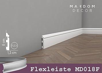 Beliebt Flexible Sockelleiste Mardom Decor MD018F Berliner Profil NK11