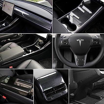 For Tesla Model 3 Center Console Wrap Car Decoration Accessories Anti-scratch