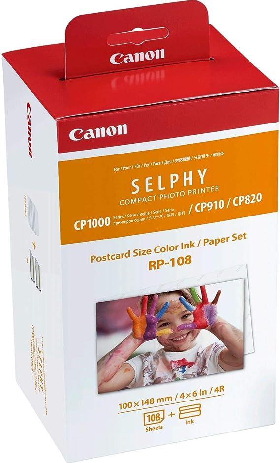 Canon Rp 108 Papier 100x148mm Tinte Elektronik