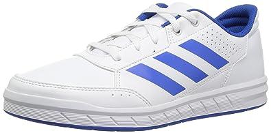 buy popular 57785 fa413 adidas Originals Unisex-Kids Altasport Sneaker, White Blue White, 1.5 M