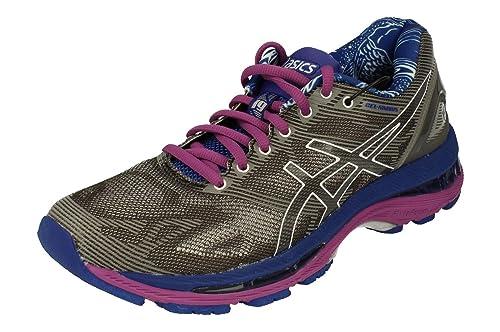 Asics Gel Nimbus 19 Lite Show Mujeres Running Trainers T754N