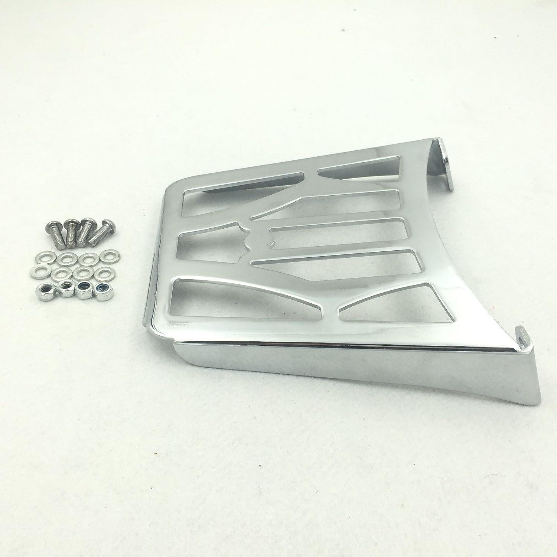 Htt Moto Chrome Sissy Bar Porte-bagage pour Harley Davidson Sportster Xl883 C Xl883r Xl1200r Xl1200 C Xl1200s Xlh883 Xlh1200 883 1200 HTTMT