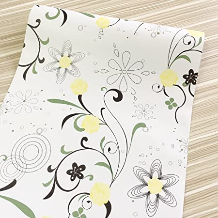 NEW Self Adhesive Contact Paper 45 cm x 100 cm Books Furniture Yellow FREE Post
